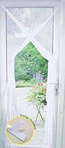 Door Or Window Fly Insect Wasp Screen Net Curtain White
