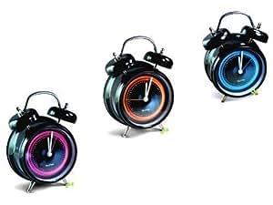 siebziger jahre wecker mit sprach aufnahme pink. Black Bedroom Furniture Sets. Home Design Ideas