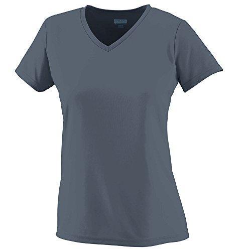 Augusta Sportswear WOMEN'S WICKING T-SHIRT 3XL Graphite
