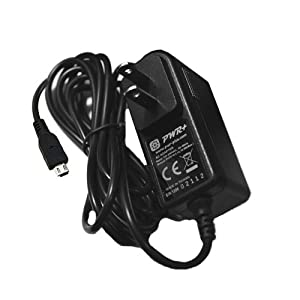 Pwr+ Extra Long 6.5 Ft Cord Ac Adapter for JVC Gz and G Series Digital Camcorder Mini-usb Battery Charger Power Supply