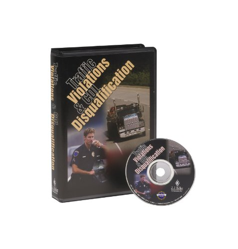 Traffic Violations & CDL Disqualification - DVD Training (166DVD)