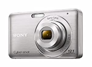 Sony DSC-W310 12.1MP Digital Camera with 4x Wide Angle Zoom with Digital Steady Shot Image Stabilization and 2.7 inch LCD (Silver)