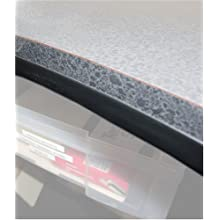 ... Inch by 1/2-Inch by 25-Foot Roll of Countertop Edge Protector, Black