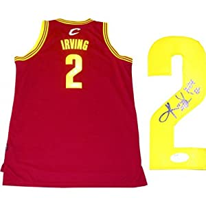 Kyrie Irving ROY 12 Autographed Cleveland Cavaliers Jersey (JSA) by Hollywood Collectibles