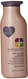 Pureology Pure Volume Shampoo for Unisex, 8.5 Ounce