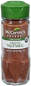 McCormick 100% Organic, Ground Nutmeg, 1.81-Ounce Unit