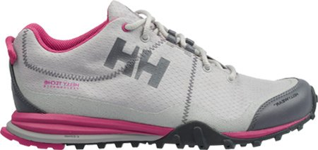 a3e9f74d12e Helly Hansen Women s W Rabbora Low HTXP Trail Running Shoe Light Grey Hot  Pink 8 M US
