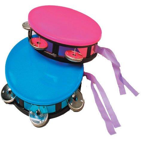 Neon Tambourine Party Accessory