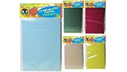 Yellow - 3 Pce Corrugated Paper 27X19Cm, Scrapbooking, Craft, Art