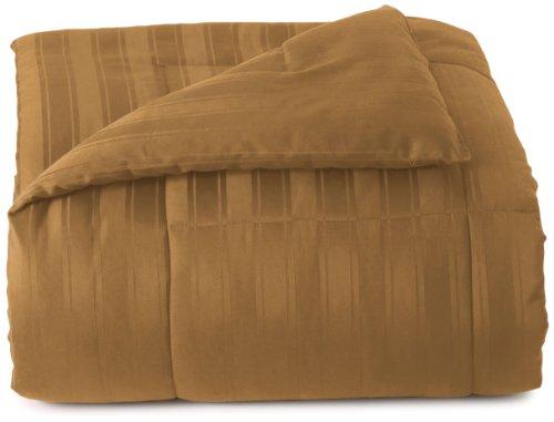 Blanket America Dobby 5-Piece California King Bonus Comforter Set, Burnished Gold front-5652