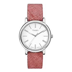 Timex Ladies CLASSIC WITH INDIGLO Analog Casual Quartz Watch NWT TW2P63600