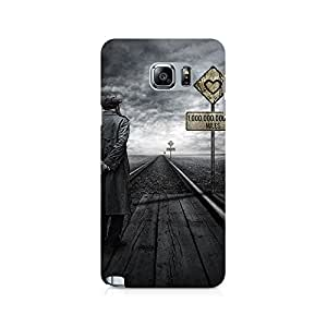 Mobicture Pattern Premium Designer Mobile Back Case Cover For Samsung Note 5