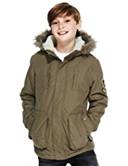 Cotton Rich Borg-Lined Parka