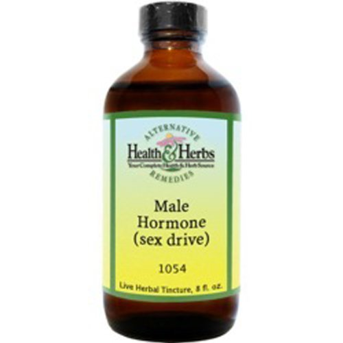 Alternative Health & Herbs Remedies Male Hormone, sex drive, 8-Ounce Bottle