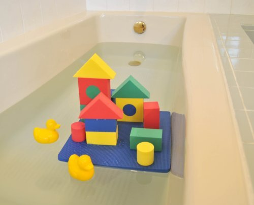 Non-Toxic Floating Waterproof Foam Blocks Bathtub Toys for Children w/ Tote Bag: Non-Recycled Quality & Lead Free (Floating Tub Toys compare prices)
