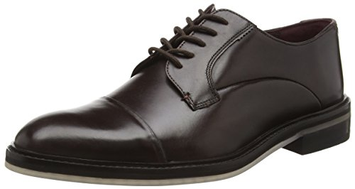 TED BAKER - Aokii, Stringate da uomo, marrone (brown leather), 40