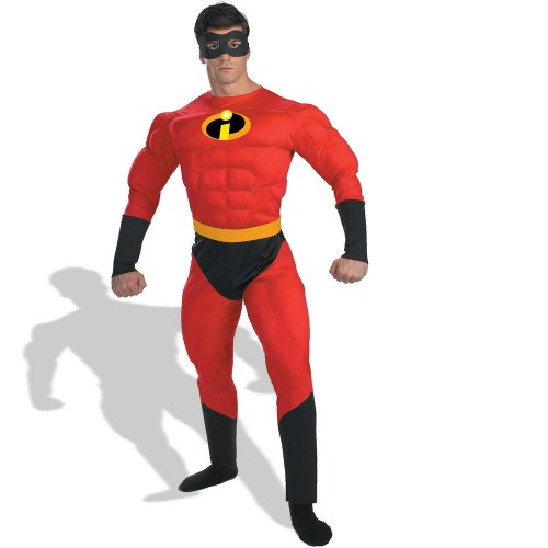 Mr. Incredible Adult Costume - X-Large