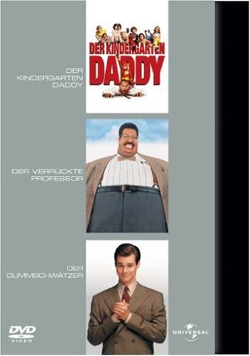 Kindergarten Daddy / Der verrückte Professor / Der Dummschwätzer [Limited Edition] [3 DVDs]
