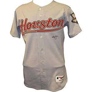 Roger Clemens Autographed Houston Astros Grey Jersey by PalmBeachAutographs.com