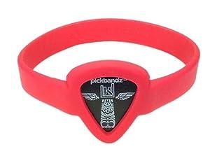 Pickbandz Bracelet Rockin' Red Medium/Large - Guitar Pick Holder Bracelet