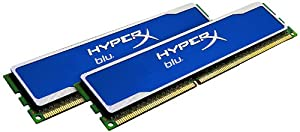 Kingston Technology HyperX Blu 8GB 1333MHz DDR3 Non-ECC CL9 DIMM (Kit of 2) KHX1333C9D3B1K2/8G
