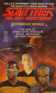 Doomsday World (Star Trek The Next Generation, No 12), JEAN PLAIDY