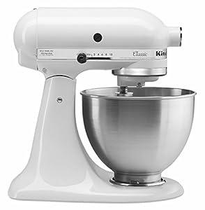 Kitchen Aide White Artisan Mixer