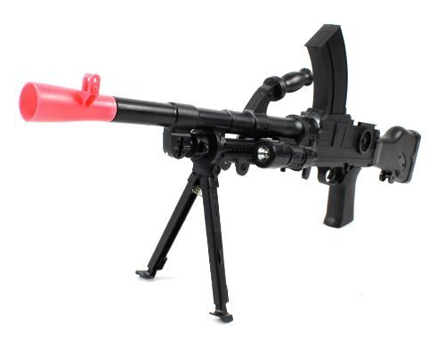 Velocity Airsoft Type 99 G11 Spring Airsoft Rifle Wwii Fps-200 W/ Folding Bipod, Led Tactical Flashlight