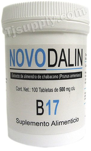 Vitamin B17 500 Mg Tablets