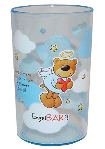aus-diesen-Becher-trinkt-ein-kleiner-EngelBRt-3-in-1-Trinkbecher-Zahnputzbecher-Malbecher-Becher-durchsichtig-Trinkglas-aus-Kunststoff-Plastik-Mdchen-Jungen-fr-Kinder-Kindergeschirr-Kinderbecher-Kinde