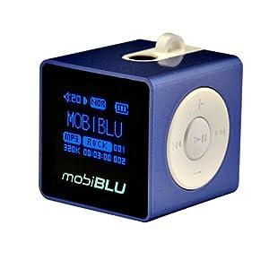 mobiBLU Cube DAH-1500i 1 GB Digital Audio Player Blue