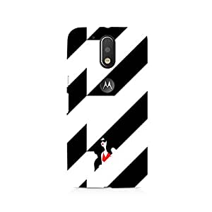 TAZindia Designer Printed Hard Back Case Cover For Moto G4 Plus