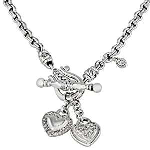 Scott Kay Sterling Silver and 0.53ct Diamond Necklace XN1055SPAD18