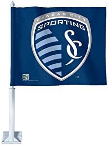 MLS Sporting Kansas City Car Flag by WinCraft