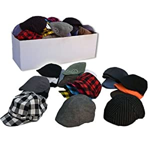 Trendy Fashion Hats Mix Bin (144 Pack)