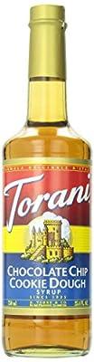 Torani Chocolate Chip Cookie Dough Syrup, 750 ml by Torani