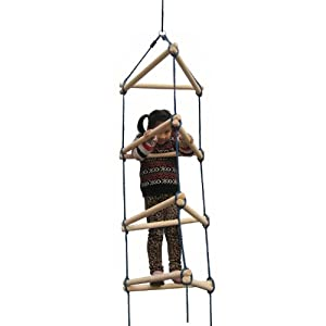 Swing-N-Slide Triangular Rope Ladder Set