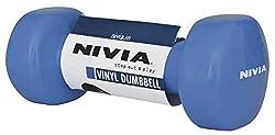 Nivia Vinyl Dumbbell, 2Kg (Blue)