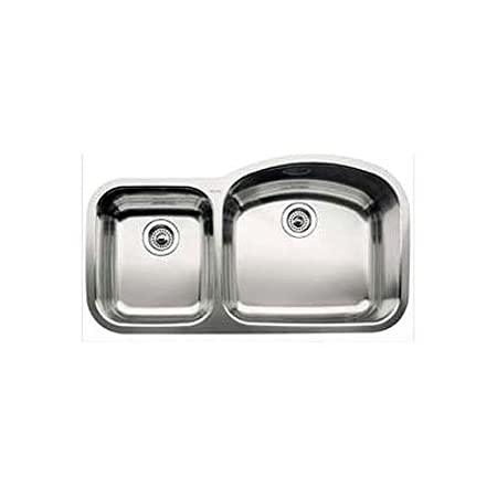 Blanco 510-883r Blancowave Stainless Steel Sink (Depth: 7in / 8in)