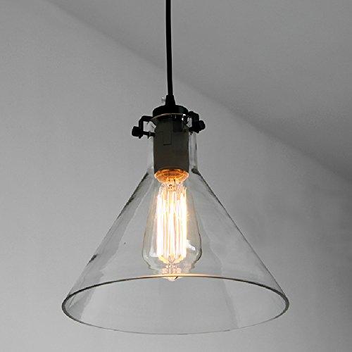 Lumicon® Restoration Barn Industrial Vintage Pendant Lights Glass