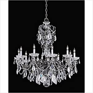 Lighting Trends: Crystal Chandeliers by Swarovski