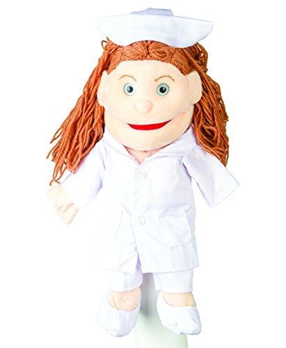 "Sunny Toys 14"" Mom/Nurse Glove Puppet"