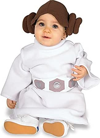 Toddler Baby Girls Boys Star Wars Yoda Darth Vader Princess Leia Halloween Fancy Dress Costume Outfit 12-24 months 1-2 years (Princess Leia)