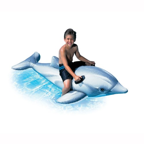 INTEX Giant Dolphin Inflatable Swimming Pool Ride-On Raft | 58539EP at Sears.com