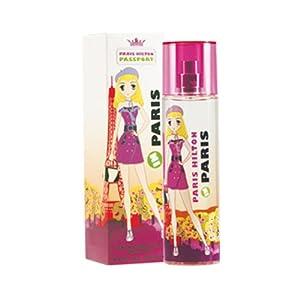 Passport Paris Eau-de-toilette Spray Women by Paris Hilton, 3.4 Ounce