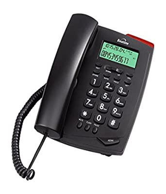 Binatone Spirit 500 Corded Landline Phone (Black)