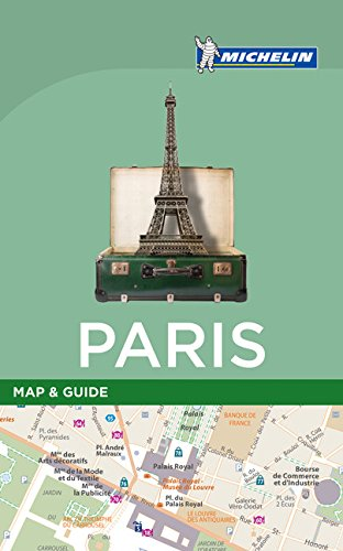 Michelin paris map guide harvard book store - Boutique michelin paris ...