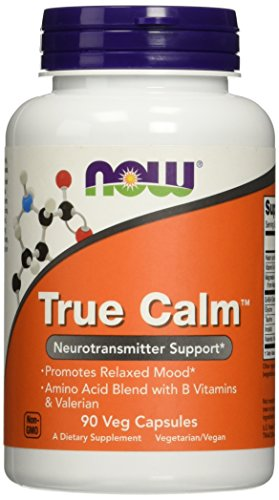 NOW Foods True Calm Amino Relaxer, 90 Veg Capsules