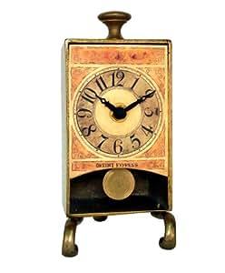 New Haven Brass Antique Table Pendulum Clock Home Kitchen
