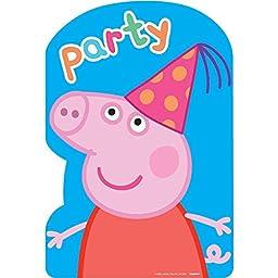 Peppa Pig Postcard Invites